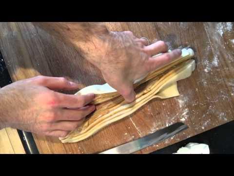 How to braid and twist a babka