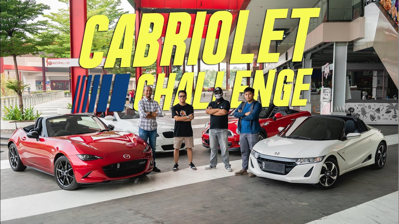 Official Teaser Cabriolet Challenge | ROAD PARTY