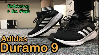 Adidas Duramo 9 | Unboxing and On Feet