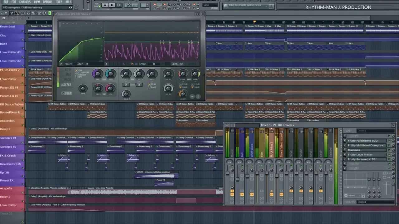 Tony ray ft gianna chica loca rhythm man j remix for Romanian house music