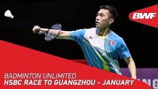 Badminton Unlimited 2020 | January - RACE TO GUANGZHOU | BWF 2020