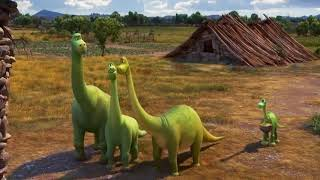 The Good Dinosaur Animation Movie in English, Disney Animated Movie For Kids, PART 4