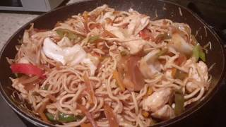 How to Make Philippine Traditional Noodles / Pancit Canton