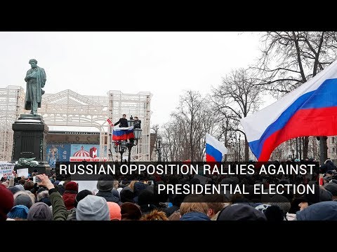 Andrew Roth on Russian Protests for Boycotting Presidential Elections