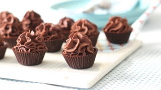 Chocolate Mousse Cup-cakes, 4 Ingredients, Dessert & Sweets, Cooking With Kim