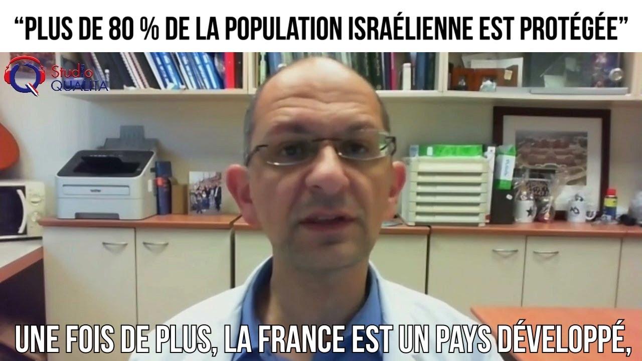 """""""Plus de 80 % de la population israélienne est protégée"""" - L'invité du 18 mars 2021"""