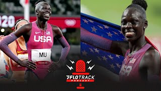 Athing Mu Breaks American Record With DOMINANT Olympic Gold Medal 800m