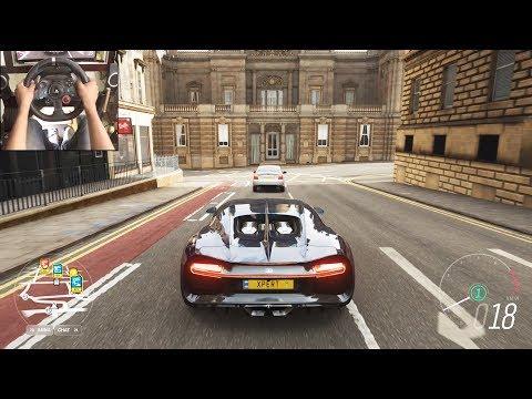 Bugatti Chiron – Forza Horizon 4 | Logitech g29 gameplay