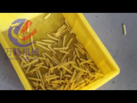 Potato Chips French Fries Making Machine Chips Cutter ...
