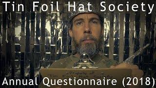 Tin Foil Hat Society Annual Questionnaire (2018) ASMR