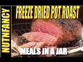 Meals in a Jar: Pot Roast w Mashed Potatoes [7 yr Freeze Dried Meal]