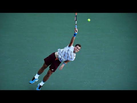 Tennis pro Vasek Pospisil takes on the Montreal Gazette