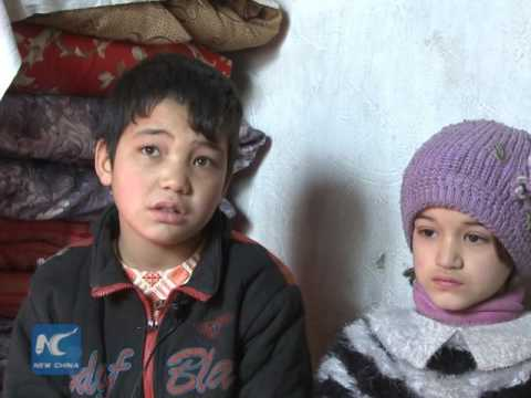 Afghan street children struggle to build better future