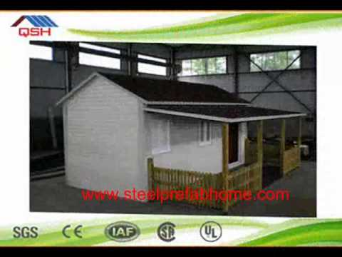 Prefab building house/light steel structure prefabricated house/mobile house for construction site d
