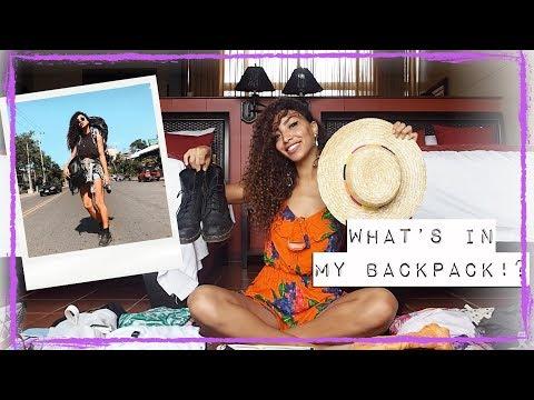 WAT ZIT ER IN MIJN BACKPACK? INPAK TIPS // Larissa Bruin - EXTRA VIDEO