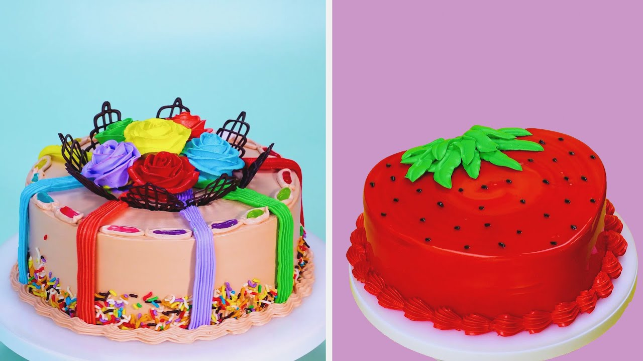 Best Colorful Cake Ideas 2021 | How To Make Delicious Cake Recipes | So Tasty Cake