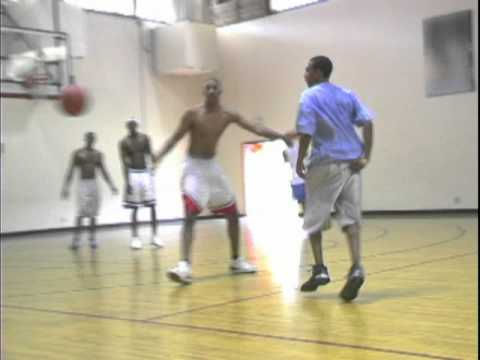 Point Guard Karl Caviness Showing Some Of His Skills