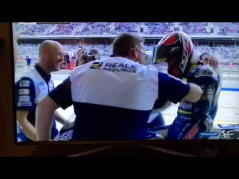 Amazing save by Loris Baz, MotoGP, COTA, Austin, Texas, USA 2017