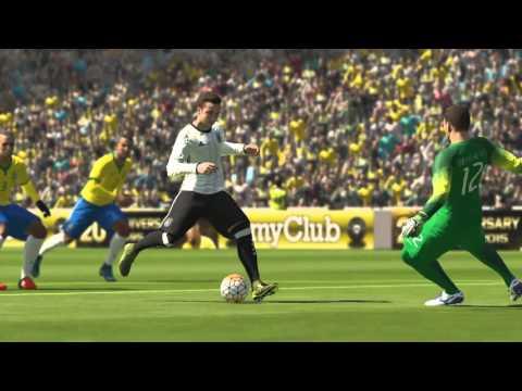 PES 2016 Brazil vs Germany in Maracana Special Stadium (PS4)