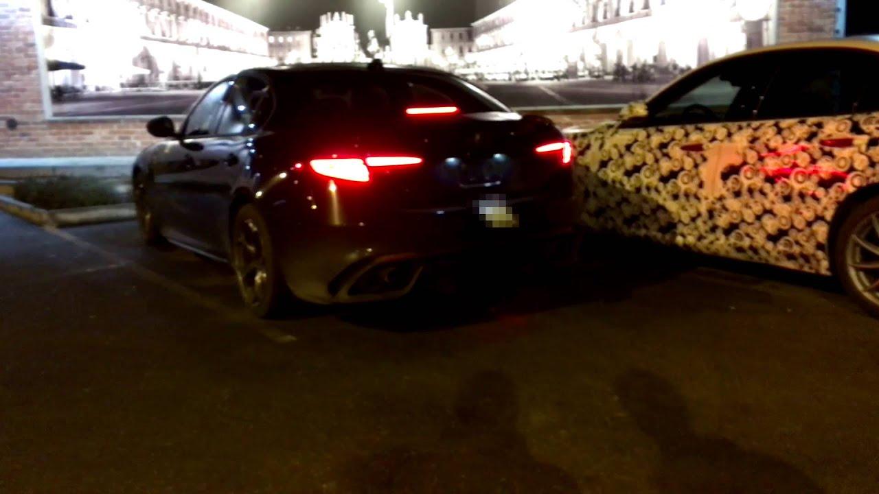 Alfa Romeo Giulia 2016 Sound Auto Bildideen Exclusive Of Quadrifoglio Verde In Turin