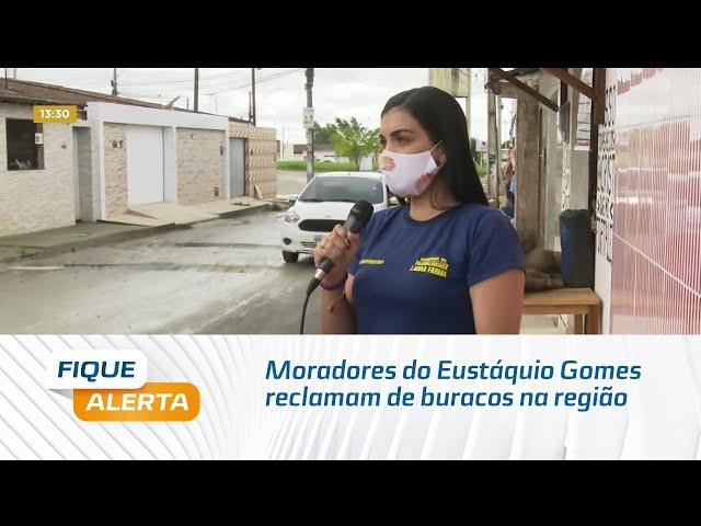 Moradores do Eustáquio Gomes reclamam de buracos na região