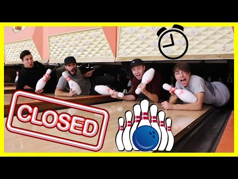 Thumbnail: Exploring a CLOSED Bowling Alley (afterhours!)