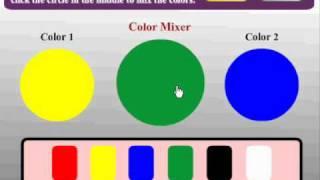 Preschool Game for kids - Color Mixer