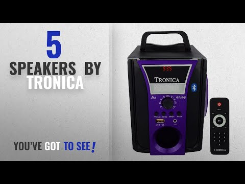 Top 10 Tronica Speakers 2018: TRONICA Bluetooth Enjoy mp3usbSDcardmobileaux supported speaker