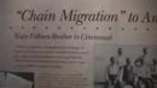 Chain Migration Exhibit -Cincinnati History Museum