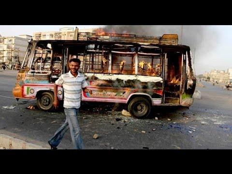 Reaction in Karachi After Altaf Hussain Arrested