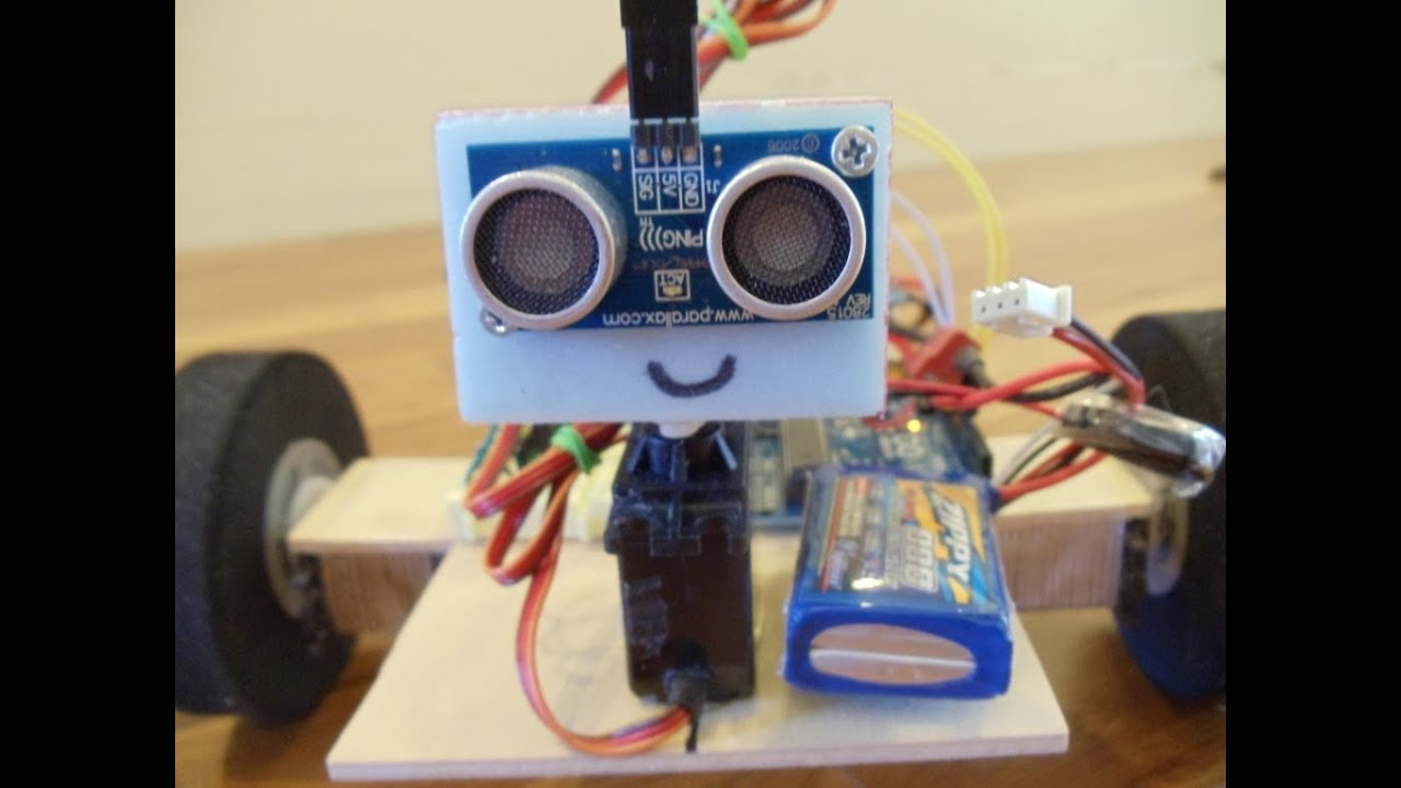 Code for arduino obstacle avoidance robot funnydog tv
