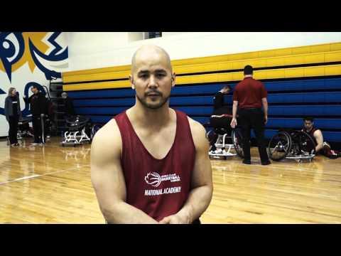 Wheelchair Basketball David Eng Canada Parapan Am Games