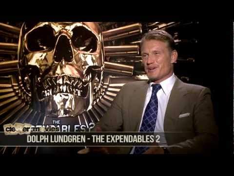 Dolph Lundgren Talks 'The Expendables 2' EXCLUSIVE