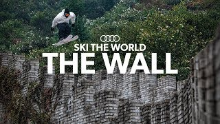 Candide Thovex skiing The Great Wall of China