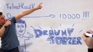 Draw My 10 Ezer Feliratkozó | IHNIH