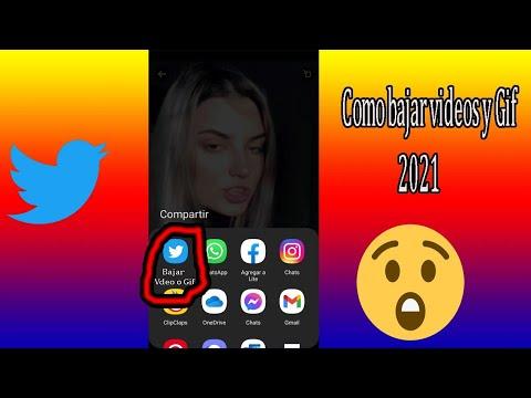 Como bajar videos y gif de Twitter 2021