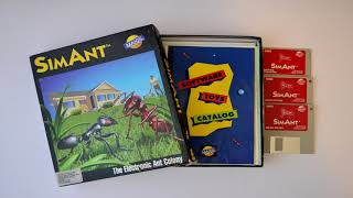 I Make People Step Over The Ant Trail - GAME BOXES OF YESTERYEAR: SimAnt