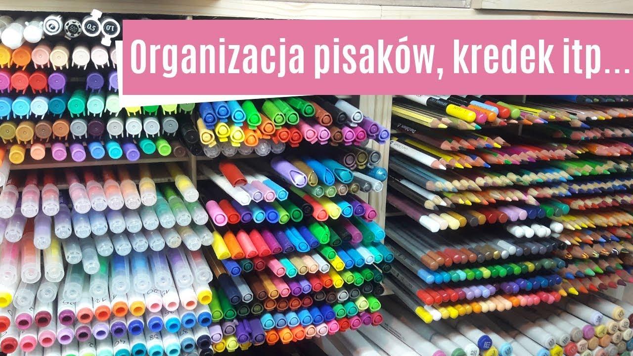 Organizacja dużej ilości kredek, pisaków, mazaków, ołówków etc... HD #1