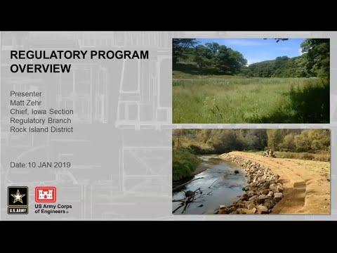 USACE Partnering Webinar Series: Regulatory 101