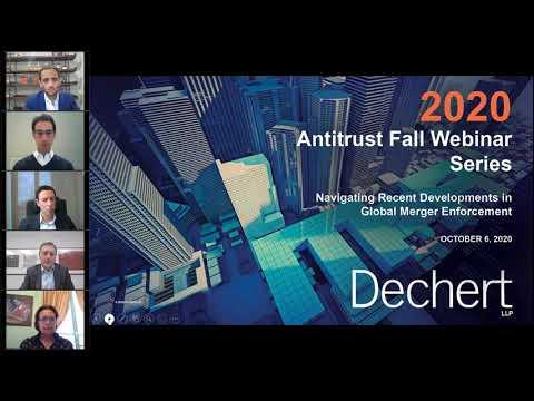 Antitrust Fall Webinar Series | Navigating Recent Developments in Global Merger Enforcement