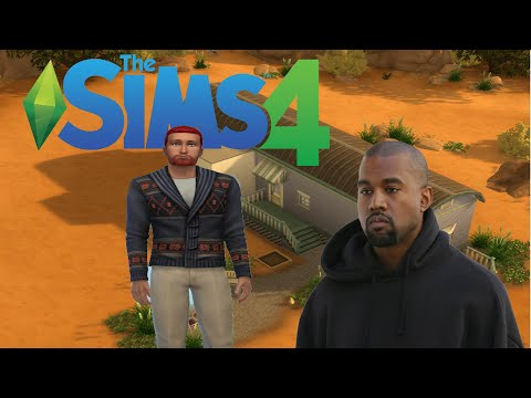 The Sims 4 But I Accidentally Create  A Knockoff Kanye West
