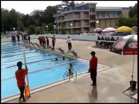 สอบว่ายน้ำ25ม.ตำรวจภ.8
