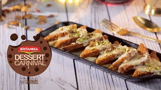 Shahi Tukda | Easy Dessert Recipe By Kanak's Kitchen