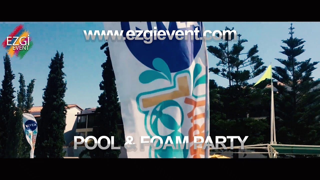 foam & pool party