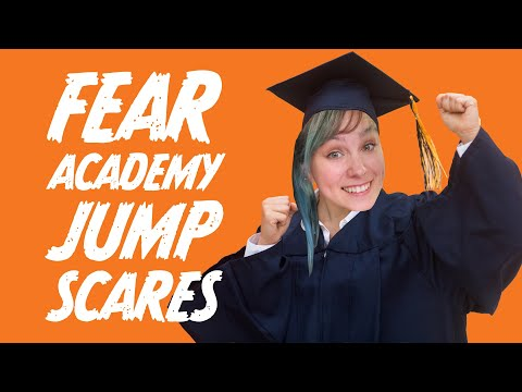 ELLEN'S FEAR ACADEMY Jumpscares Supercut! - Ellen Plays Scary Games 👻😱💀