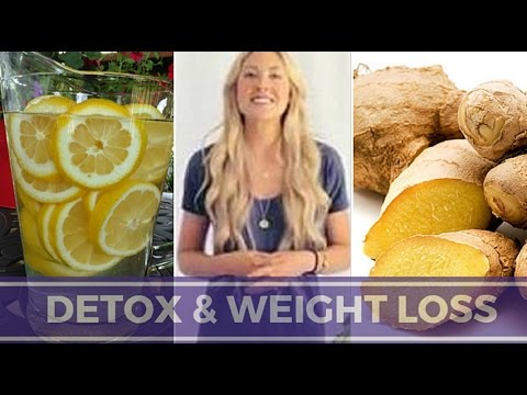 How To Lose Weight Fast | Ginger Lemon Detox Water For Fast Weight Loss
