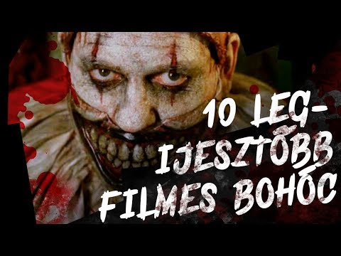 A 10 LEGijesztőbb Filmes Bohóc