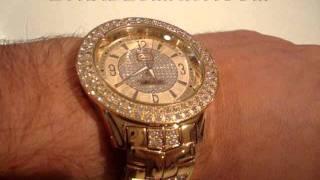 629c9821d46 Relógio MARC ECKO THE KING DOURADO E22581G1