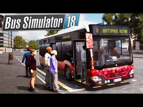 Bus Simulator 18 - Building A Transportation Empire - My Own Bus In The Game! - Bus Sim 18 Gameplay