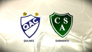 Quilmes vs Sarmiento full match